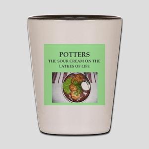 pottery Shot Glass