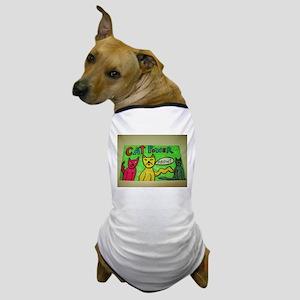 CAT POWER cartoon artwork design. Dog T-Shirt