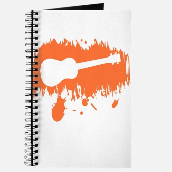 Orange Uke Splat Journal