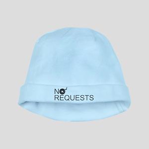 No Requests baby hat