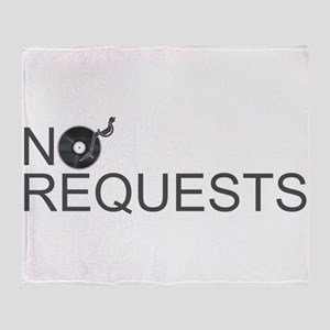 No Requests Throw Blanket