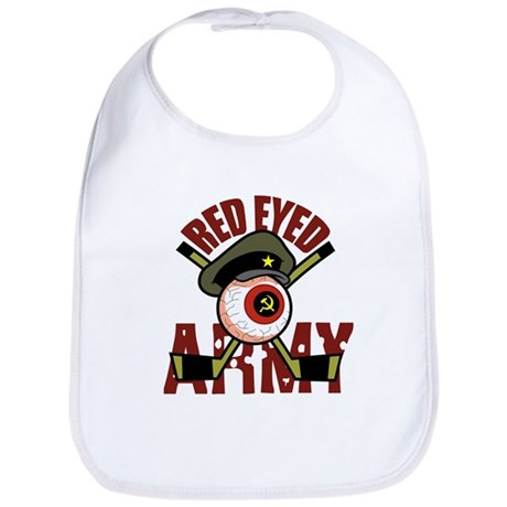 Red Eyed Army Bib