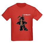 Bunny Biker Rabbit Kids Dark T-Shirt