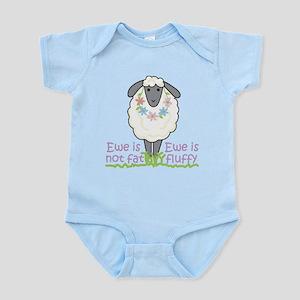 Ewe is Not Fat Infant Bodysuit