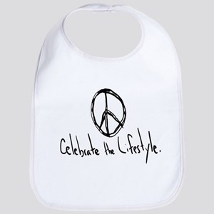 Celebrate the Lifestyle - Peace Bib