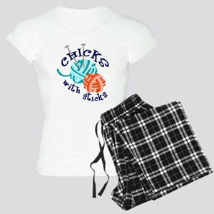 Chicks with Sticks Women's Light Pajamas