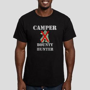 Gamer Camper Bounty Hunter Men's Fitted T-Shirt (d