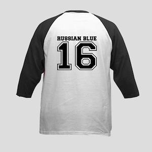 Russian Blue SPORT Kids Baseball Jersey