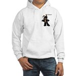Biker Bunny Hooded Sweatshirt