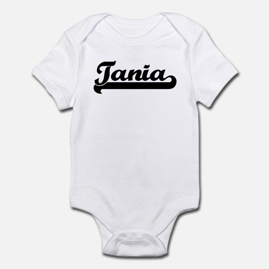 Black jersey: Tania Infant Bodysuit