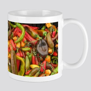 many different peppers Mug