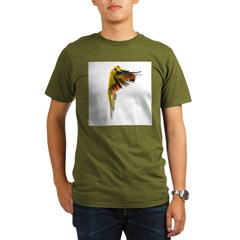 Sun Conure in flight Steve Duncan T-Shirt