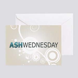 Ash wednesday greeting cards cafepress ash wednesday greeting card m4hsunfo
