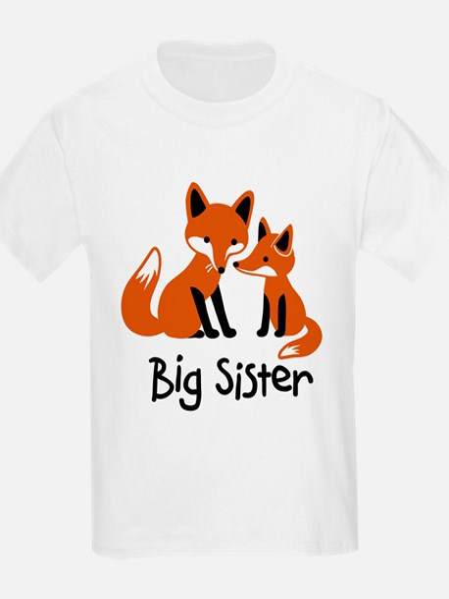 Big Sister - Mod Fox T-Shirt