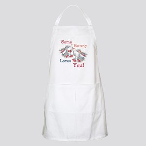 Some Bunny Loves You Apron