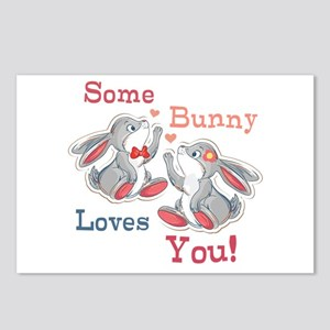 Some Bunny Loves You Postcards (Package of 8)