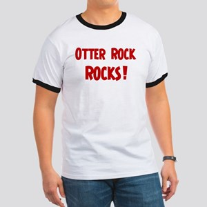 Otter Rock Rocks Ringer T