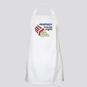 Family Movie Night Apron