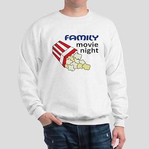 Family Movie Night Sweatshirt