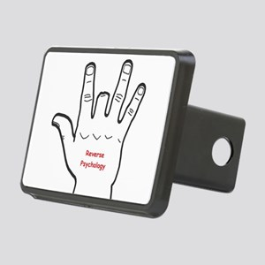 Reverse Psychology Rectangular Hitch Cover