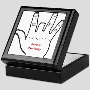 Reverse Psychology Keepsake Box