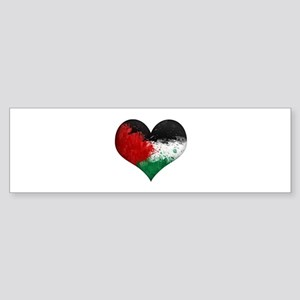 Palestine Heart Sticker (Bumper)