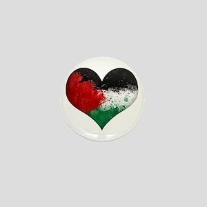 Palestine Heart Mini Button