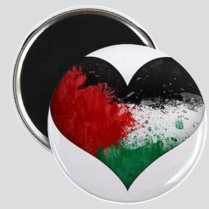 Palestine Heart Magnet