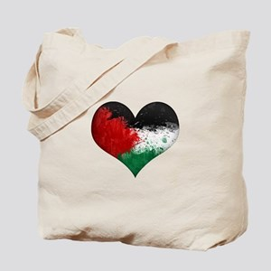Palestine Heart Tote Bag