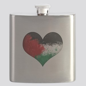 Palestine Heart Flask