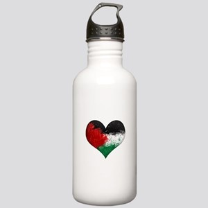 Palestine Heart Stainless Water Bottle 1.0L