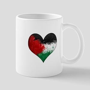 Palestine Heart Mug