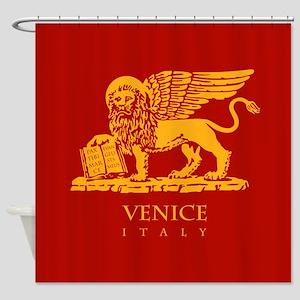 Venice Flag Shower Curtain