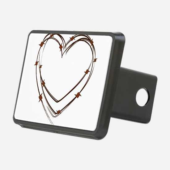 Barbed Wire Heart Hitch Cover