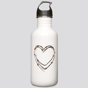 Barbed Wire Heart Stainless Water Bottle 1.0L