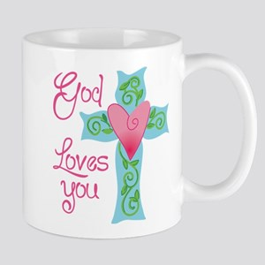 God Loves You Mug
