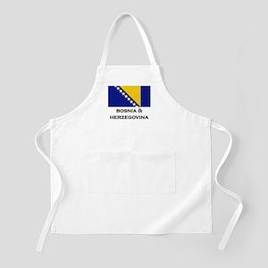 Bosnia & Herzegovina Flag Stuff BBQ Apron