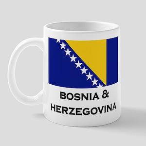 Bosnia & Herzegovina Flag Stuff Mug
