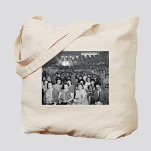 Coney Island Theater Crowd 1812920 Tote Bag