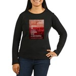 I Survived The Global Warming Hoax Women's Long Sl