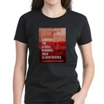 I Survived The Global Warming Hoax Women's Dark T-