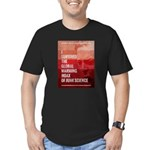 I Survived The Global Warming Hoax Men's Fitted T-