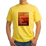 I Survived The Global Warming Hoax Yellow T-Shirt