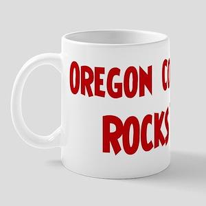 Oregon Coast Rocks Mug