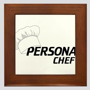 Personal Chef Framed Tile