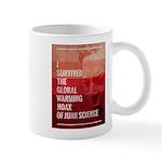 I Survived The Global Warming Hoax Mug