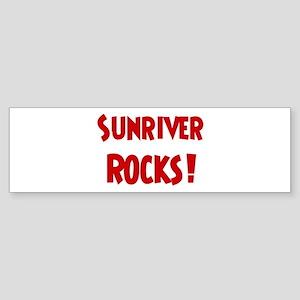 Sunriver Rocks Bumper Sticker