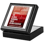 I Survived The Global Warming Hoax Keepsake Box