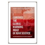I Survived The Global Warming Hoax Banner