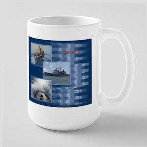 USS Anzio Large Mug